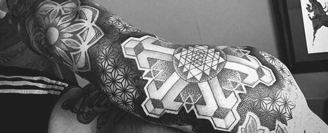 Sacred Geometry Tattoo Designs For Men