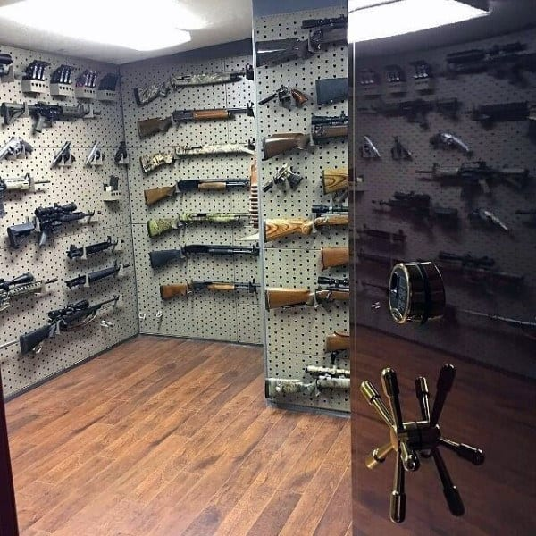 Safe Vault Gun Room Design