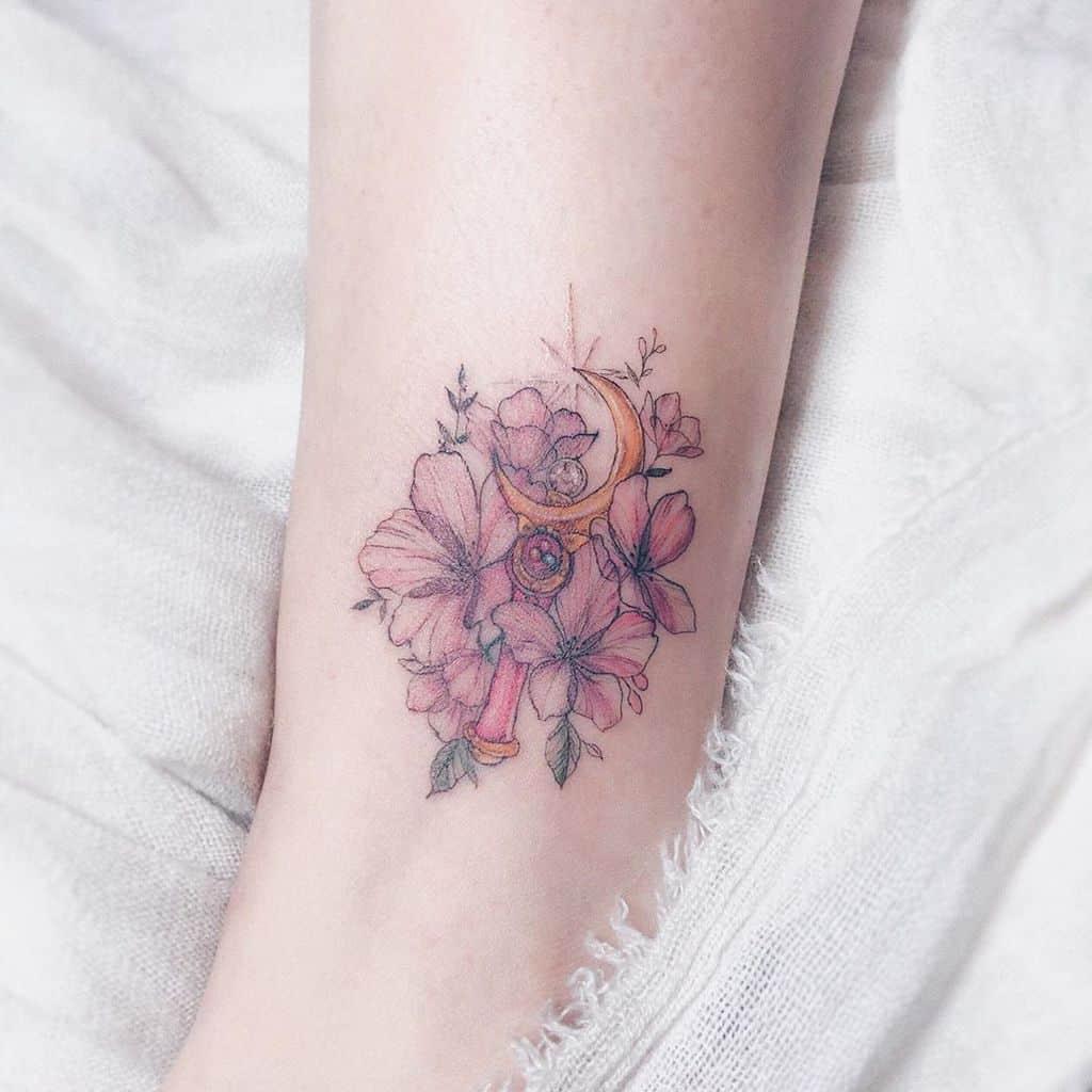 Sakura Sailor Moon Tattoo