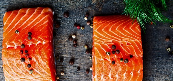 Salmon Eating Before A Workout
