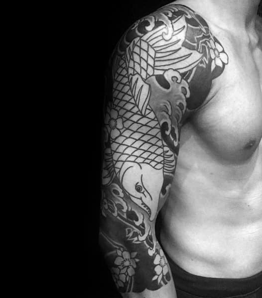 Salmon Tattoo Ideas For Men