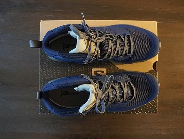 Salomon Hiking Outline Mid Gtx Shoes For Men