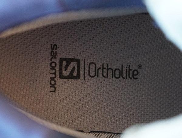 Salomon Mens Outline Mid Gtx Hiking Shoes Ortholite Sole