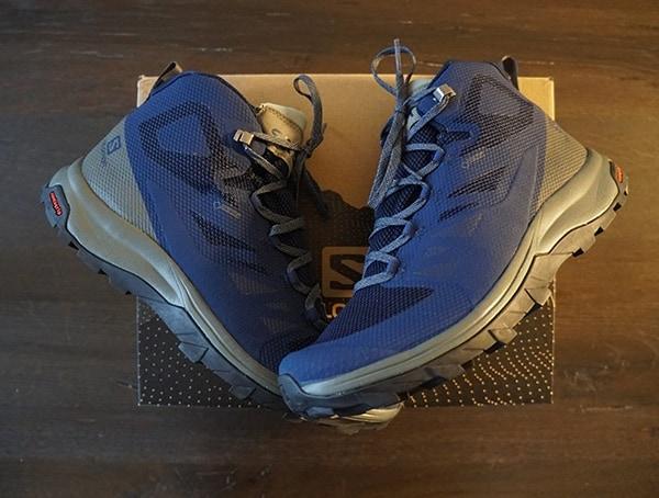 Salomon Mens Outline Mid Gtx Shoes