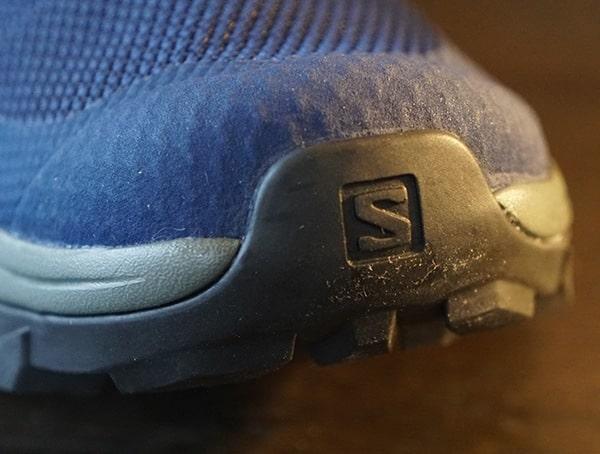 Salomon Outline Mid Gtx Mens Hiking Shoes Rubber Toe
