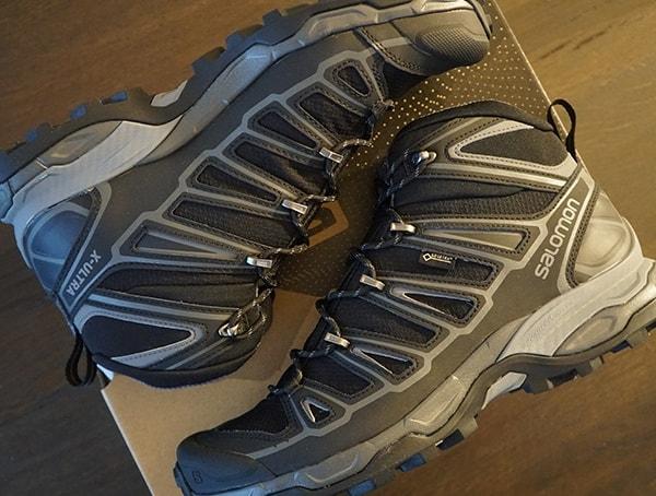 Salomon X Ultra Mid 2 Spikes Waterproof Mens Gore Tex Hiking Shoes
