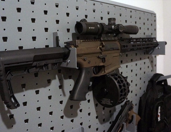 Salt Works Rifles Mounted On Gallow Technologies Wall