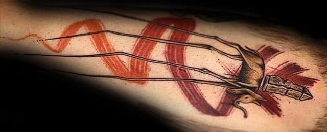 50 Salvador Dali Elephant Tattoo Designs For Men – Painting Ink Ideas