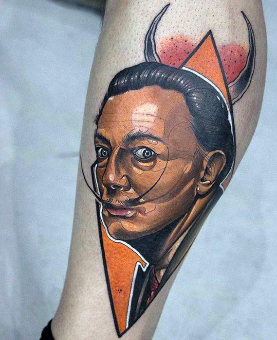 Salvador Dali Tattoos For Gentlemen