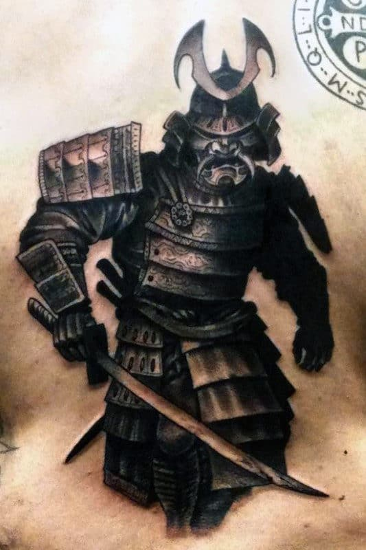 50 Samurai Tattoo Designs For Men - Noble Japanese Warriors