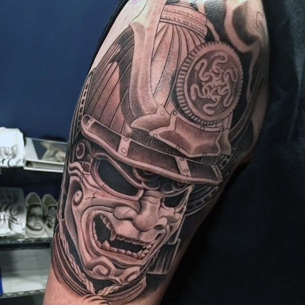 Samurai Sword Tattoo For Men