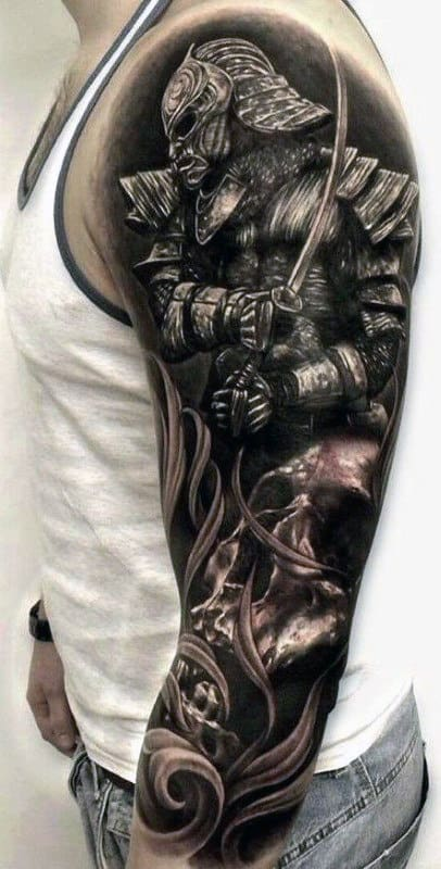 Samurai Tattoos Designs For Males