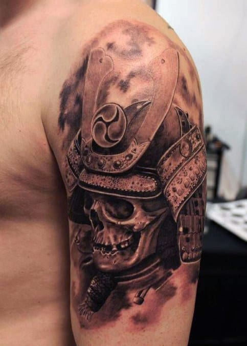 Samurai Warrior Tattoos For Males