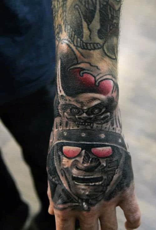 Samurai Warrior Tattoos For Men