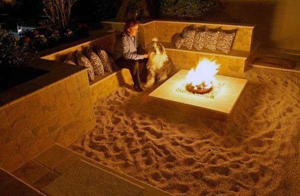 Sand Fire Pit Ideas