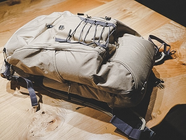 Sand Victorinox Deluxe Rolltop Backpack Reviewed