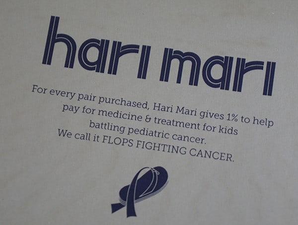 Sandals Flops Fighting Cancer Card