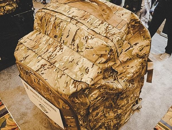 Sandpiper Of California Massive Oversized Tactical Multicam Backpack