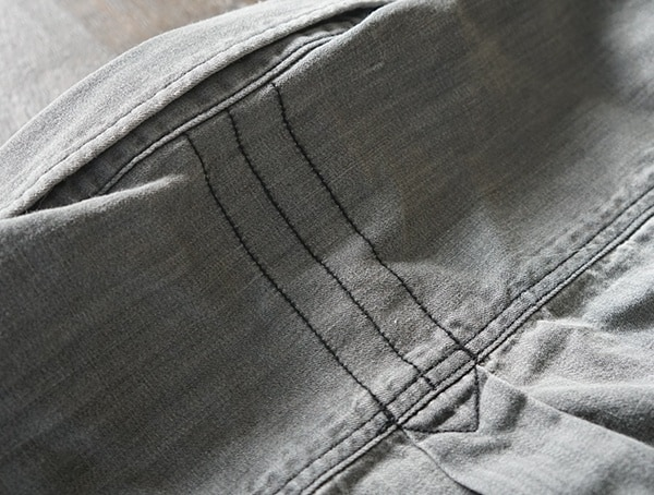 Satin Taped Collar Mens Long Sleeve Dakota Grizzly Ryder Shirt