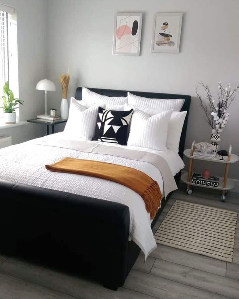 scandinavian black and white bedroom ideas homeinteriors_tp