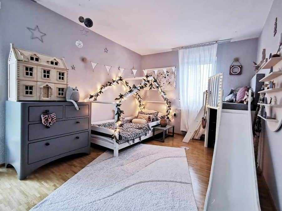 Scandinavian Girls Bedroom Ideas Liep.ert.to.the.moon
