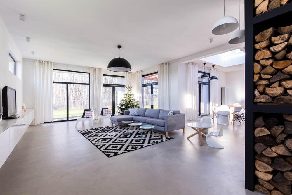 Scandinavian Minimalist Living Room 1