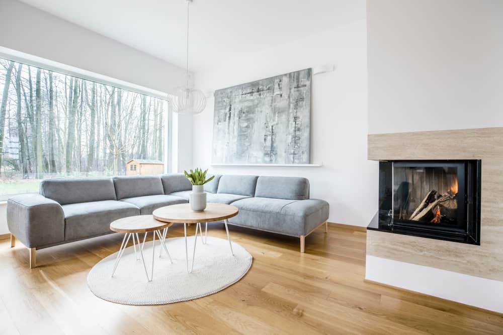 Scandinavian Minimalist Living Room 2