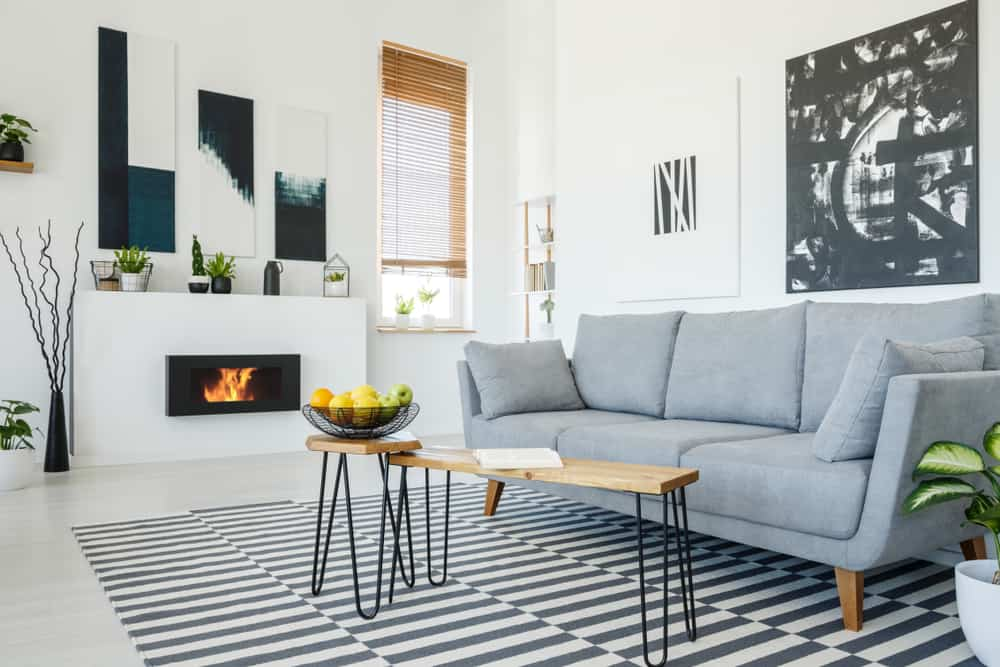 Scandinavian Minimalist Living Room 4