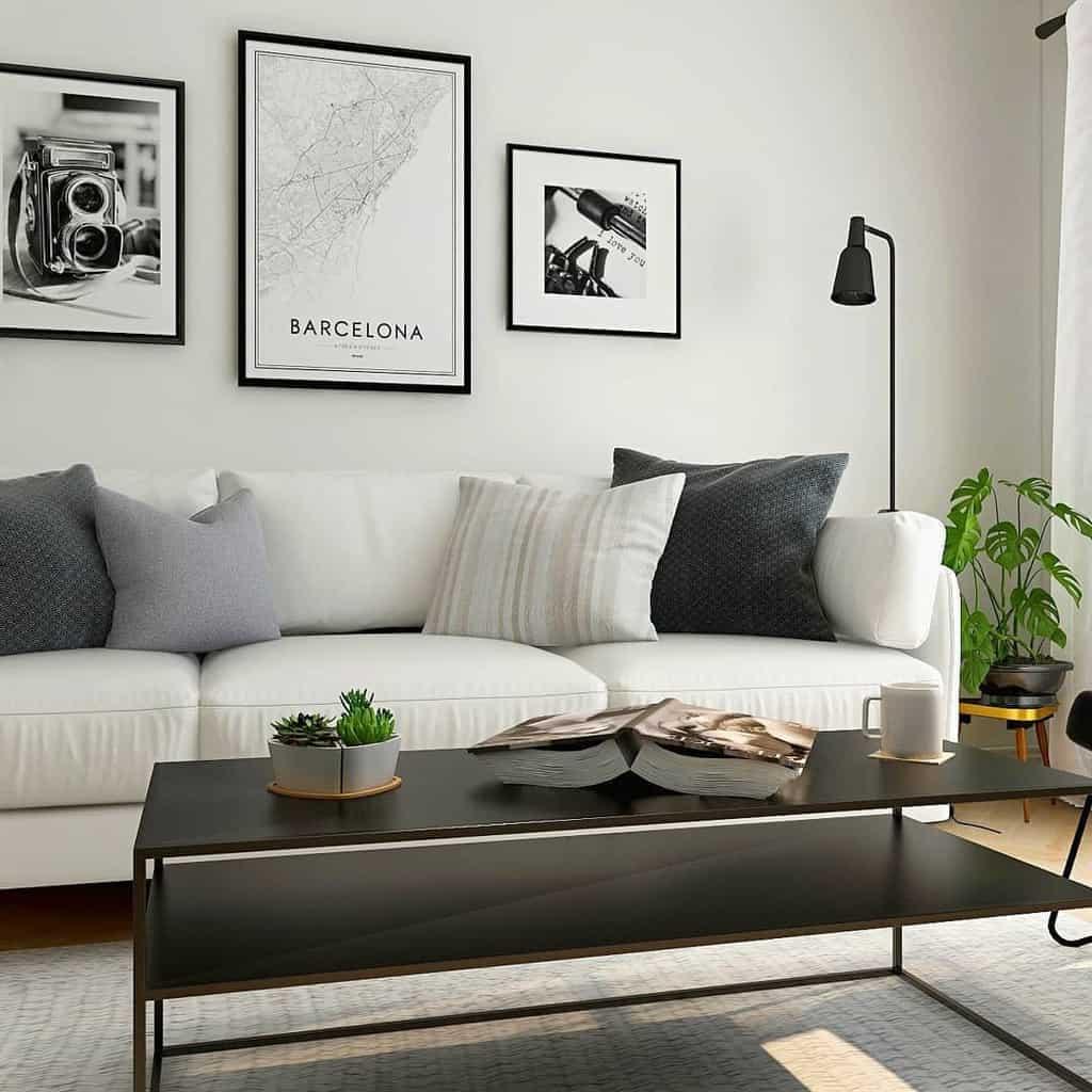 Scandinavian Minimalist Living Room Mdesign4you
