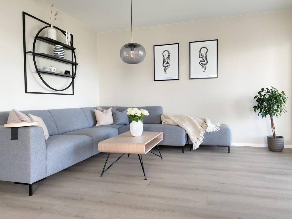 Scandinavian Minimalist Living Room Villafjellstien