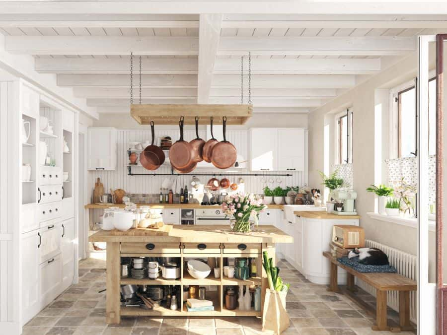 Scandinavian Open Island Kitchen Ideas