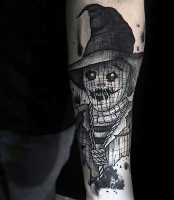 Scarecrow Guys Tattoo Designs