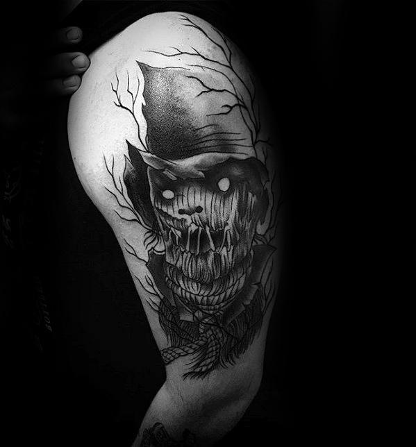 Scarecrow Guys Tattoo Ideas