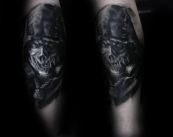 Scarecrow Mens Tattoo Ideas
