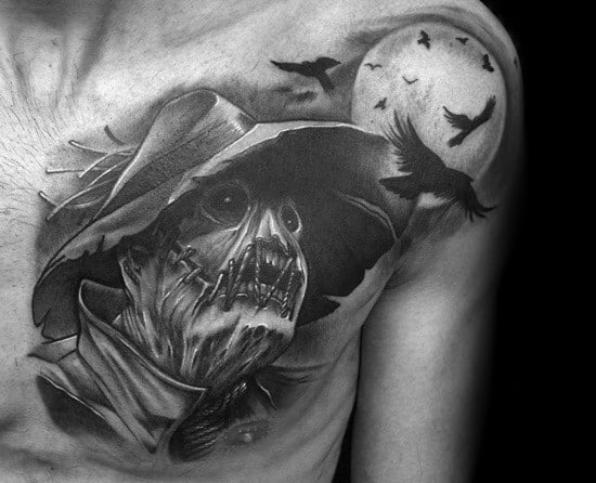 Scarecrow Tattoo Design Ideas For Males