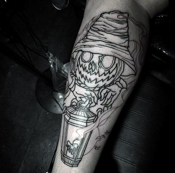 Scarecrow Tattoo Designs For Guys