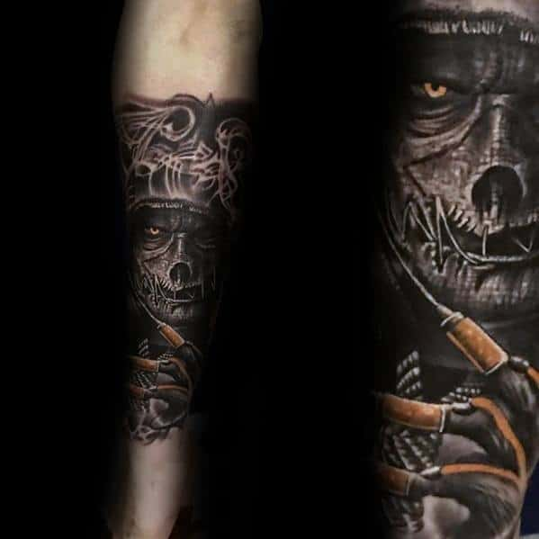 Scarecrow Tattoos For Gentlemen