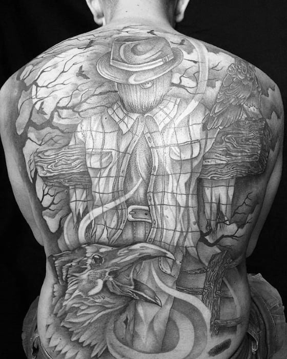 Scarecrow Tattoos Male