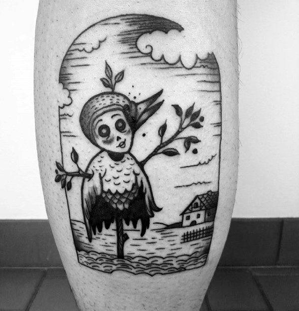 Scarecrow Tattoos Men
