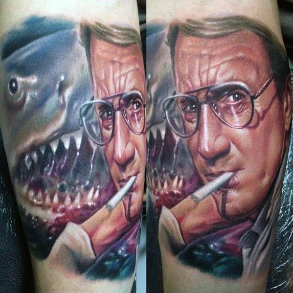 Scary Movie Tattoo Designs For Men