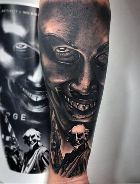 Scary Movie Tattoo Inspiration For Men