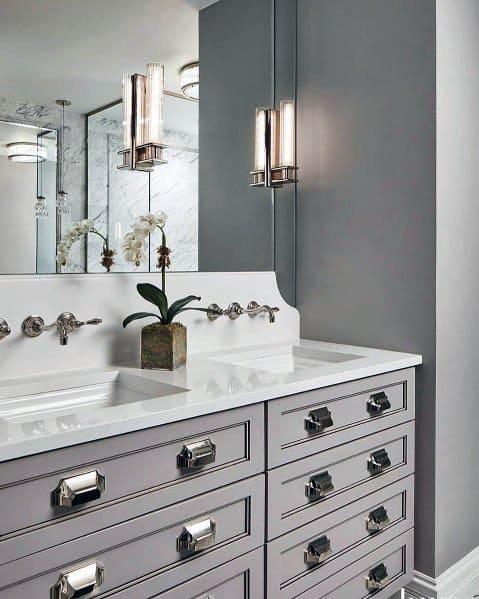 Sconce Home Design Ideas Bathroom Lighting