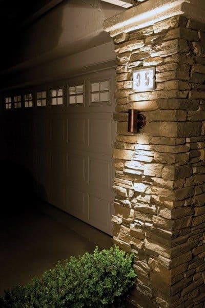 Scone Wall Outdoor Garage Lights
