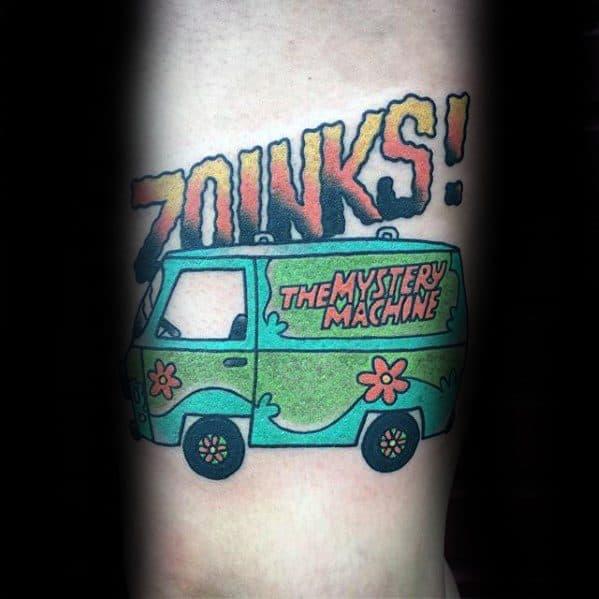 Scooby Doo Tattoo Ideas On Guys