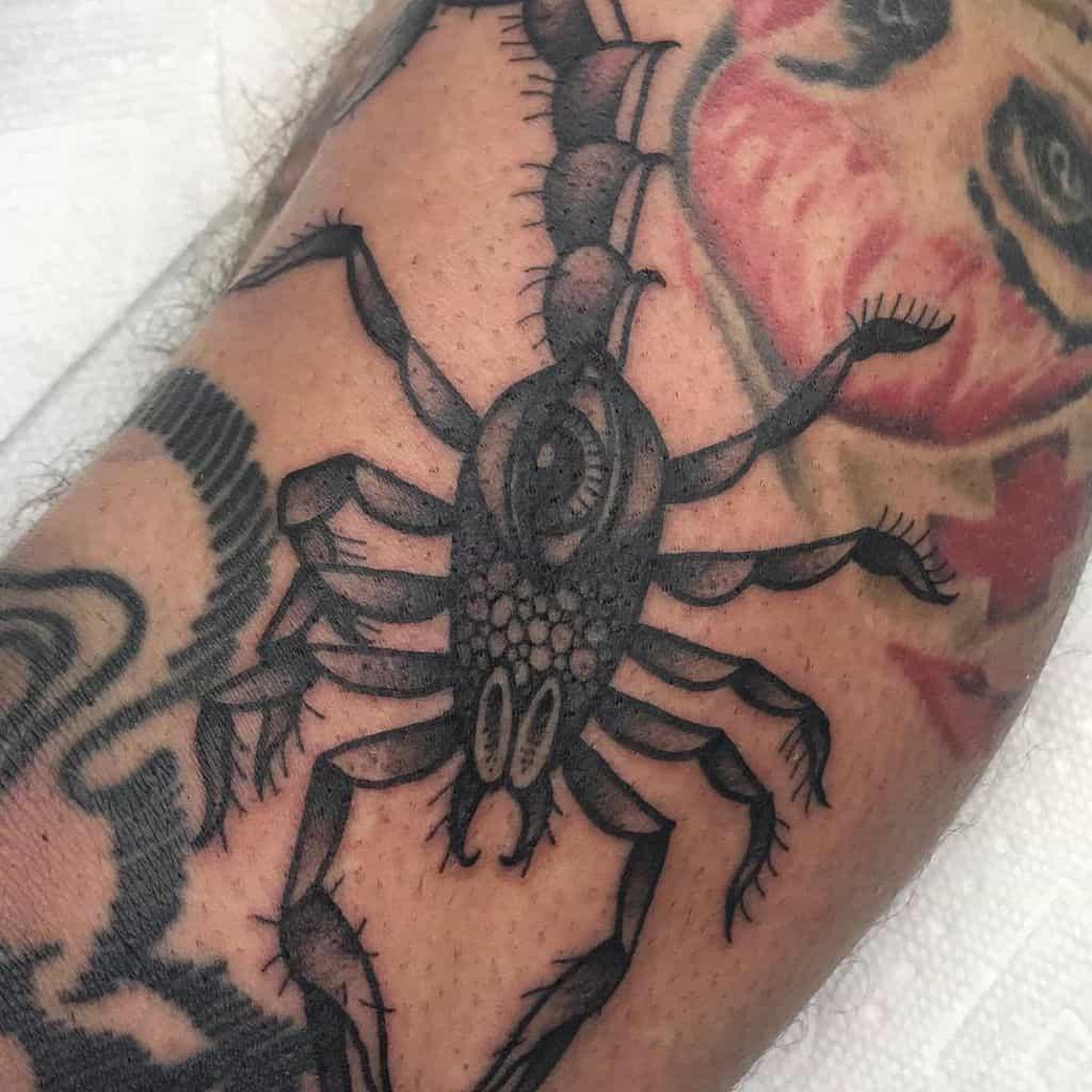 Scorpion Eye Tattoo