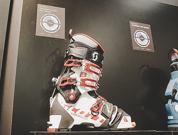 Scott Mens Ski Boots Outdoor Retailer Snow Show 2019