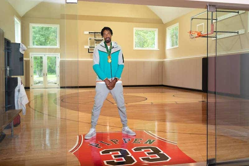 Watch the Tokyo Olympics While Kicking It at Scottie Pippen's Crib