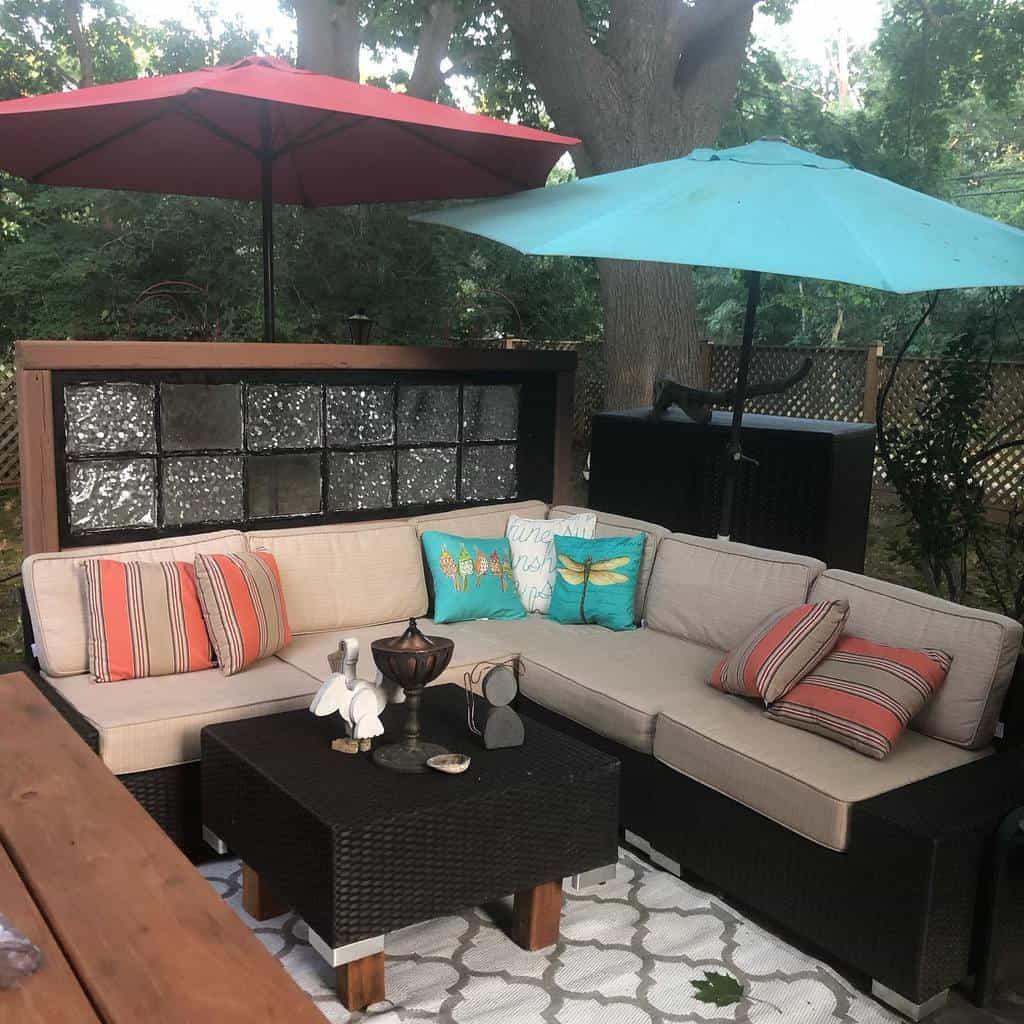 screen patio privacy ideas kathleencaulsonheiles