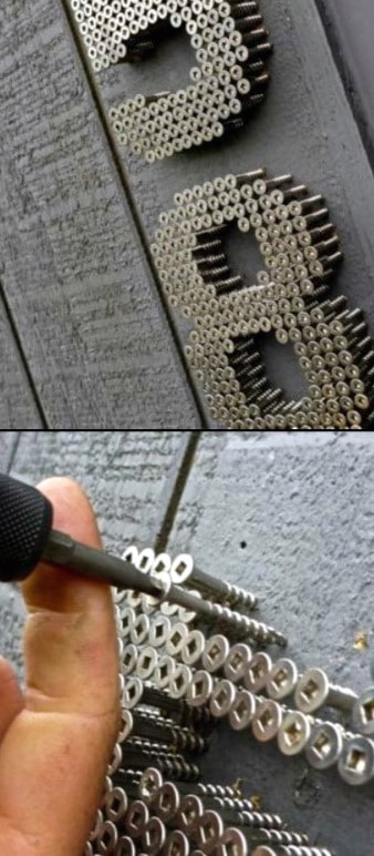 Screw Board Man Cave Decor For Walls