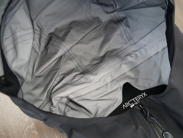 Seam Sealed Waterproof Hood Mens Arcteryx Zeta Lt Jacket